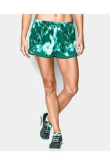 Under Armour Verde de Mujer modelo TECH SHORT - PRINTED Deportivo Shorts