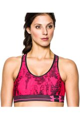 Under Armour Fucsia de Mujer modelo HEATGEAR ALPHA PRINTED BRA Deportivo Tops