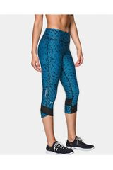 Under Armour Turquesa de Mujer modelo PRINTED FLY BY CAP Capri Ropa Deportivo Mujer