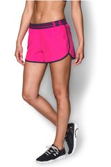 Short de Mujer UNDER ARMOUR UA PERFECT PACE Rosado / Negro