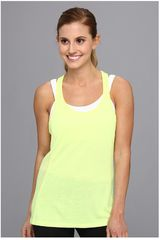 Under Armour Amarillo de Mujer modelo UA FLY BY STRETCH MESH TANK Ropa Mujer Deportivo Bividis