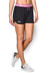 Short de Mujer UNDER ARMOUR UA PLAY UP Negro / Rosado