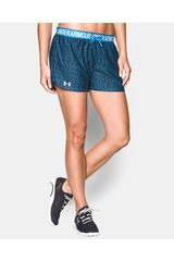 Under Armour Celeste de Mujer modelo UA PLAY UP - PRINTED Deportivo Shorts