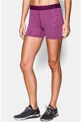 Short de Mujer UNDER ARMOUR HG ALPHA STRIPE Morado