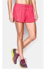 Under Armour Fucsia de Mujer modelo TECH SHORT - PRINTED Deportivo Shorts