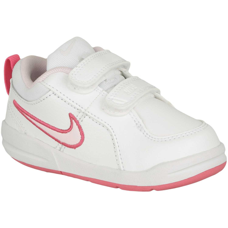 Zapatilla de Niña Nike Blanco / rosado pico 4 gtv