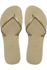 Havaianas Beige de Mujer modelo FLAT Casual Deportivo Playeras Walking Zapatillas Mujer Calzado