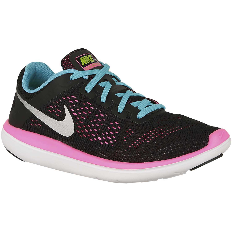 b1bd52604452a Zapatilla de Mujer Nike Negro   Rosado flex 2016 rn gg