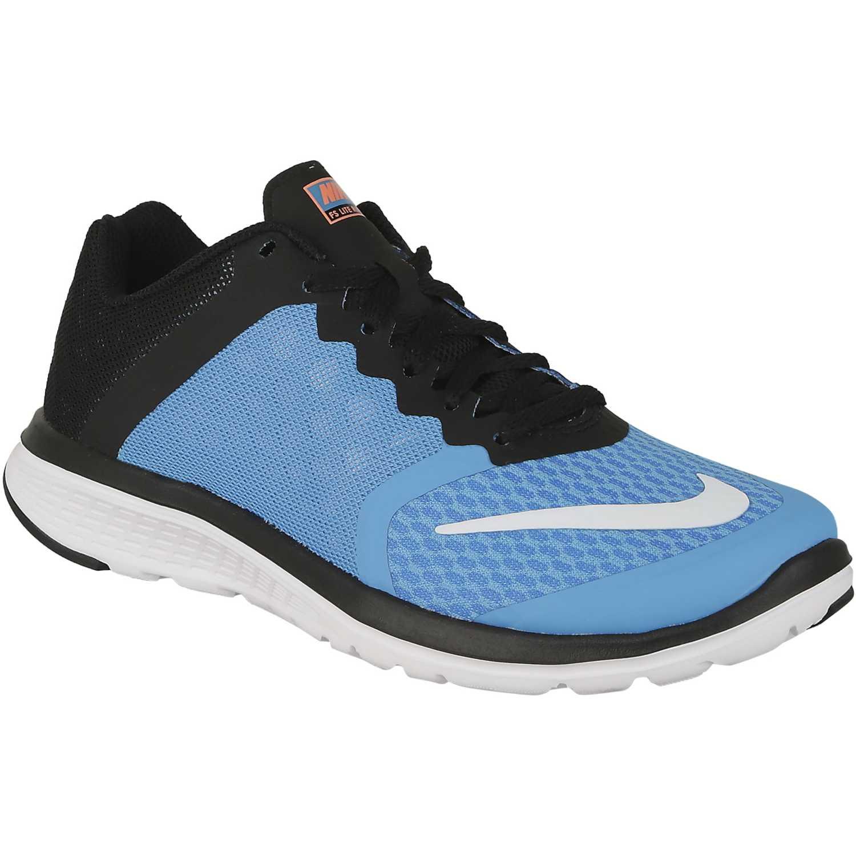 reputable site a0acc 7e3db Zapatilla de Mujer Nike Celeste   Negro wmns fs lite run 3