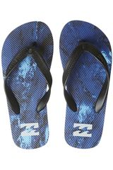 Sandalias Playeras de Hombre Billabong TRIPPED OUT THONG Azulino