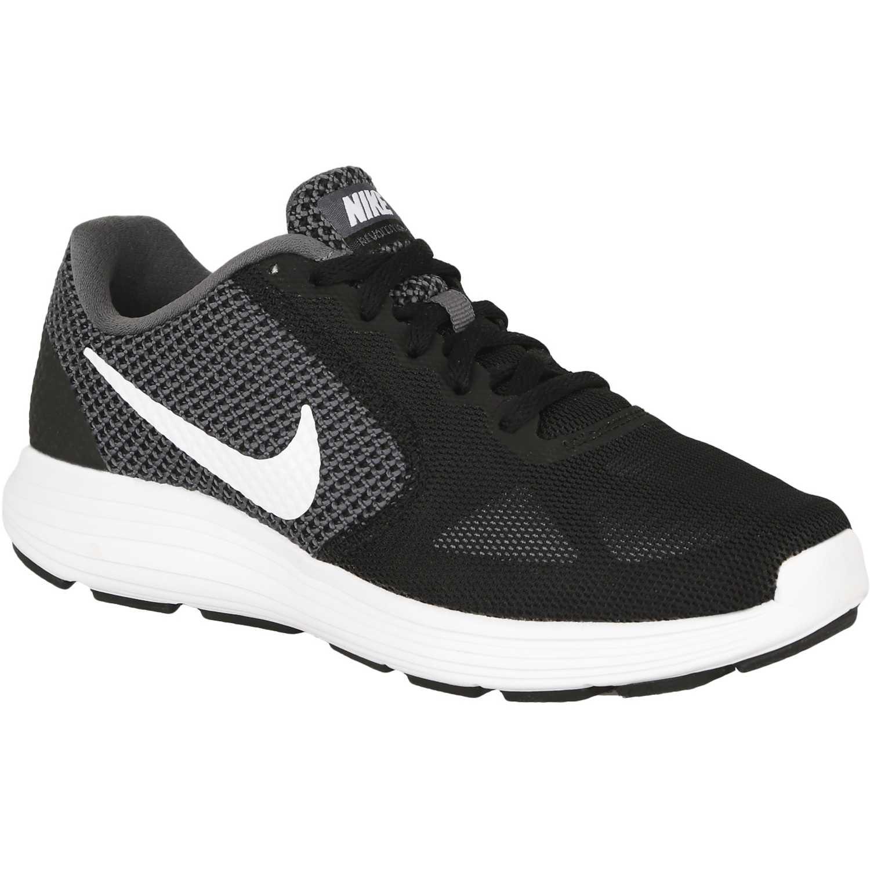 online retailer 2e1bb 72b2d Zapatilla de Mujer Nike Negro   blanco wmns revolution 3