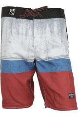 Short de Hombre Dunkelvolk STAMP Rojo