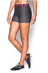 Short de Mujer UNDER ARMOUR HEATGEAR ARMOUR Negro / Rosado