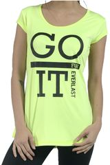 Polo de Mujer EVERLAST GO FOR IT Amarillo