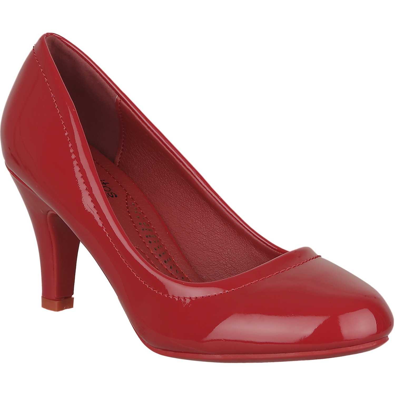 Calzado de Mujer Platanitos Rojo c 8852