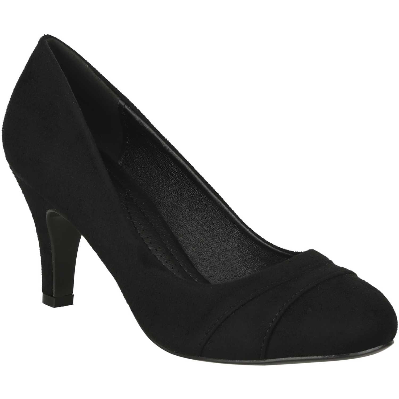 Calzado de Mujer Platanitos Negro c 8856