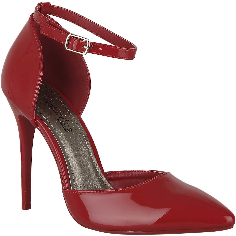 Platanitos Rojo de Mujer modelo C 50338 Tacos