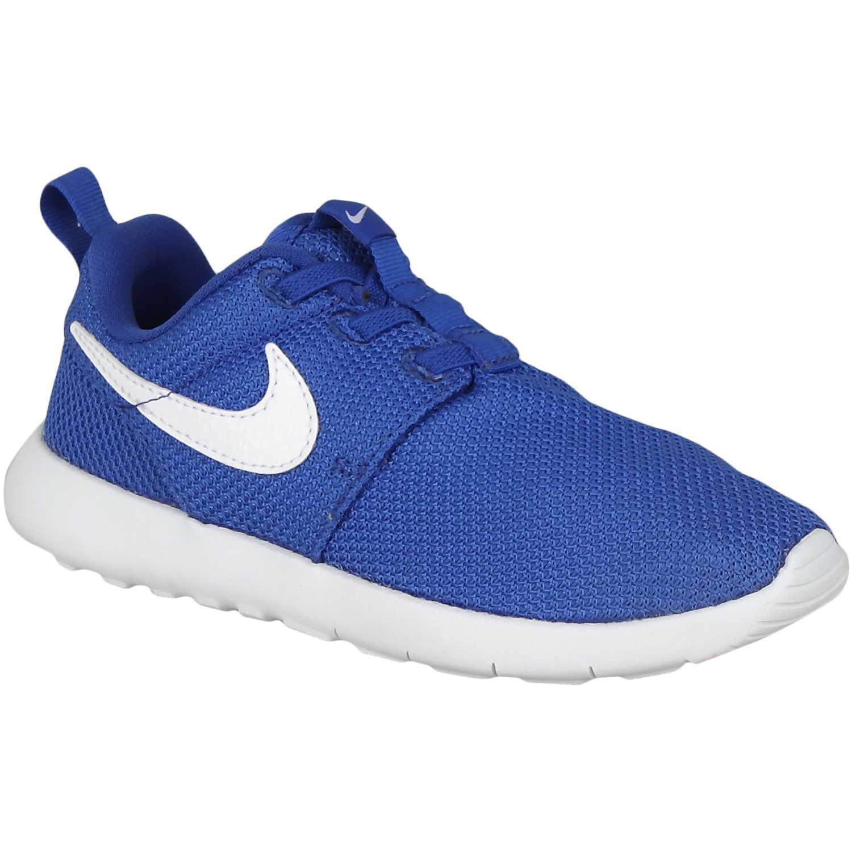 best service 7f82b 49d43 Zapatilla de Niño Nike Azul  Blanco roshe one bpv