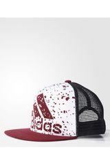 Gorro de Niña adidas YA PR K CAP G Blanco / Rojo