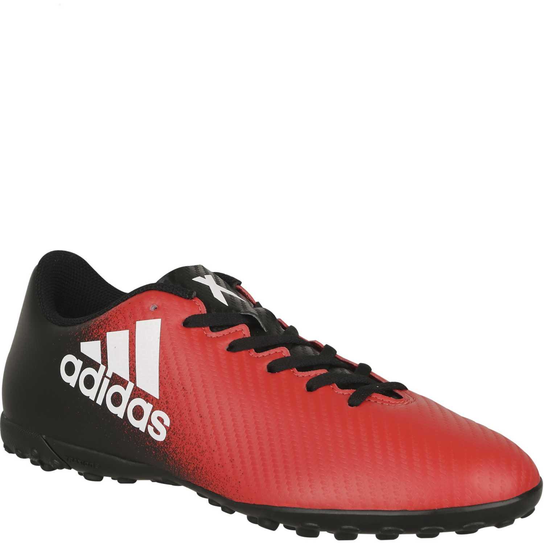 zapatillas adidas rojas con negro