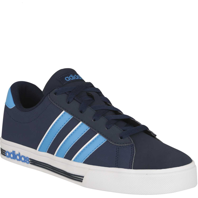 zapatillas adidas azul y celeste