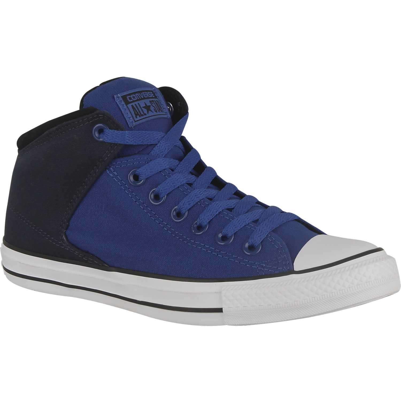 zapatillas hombre converse azul