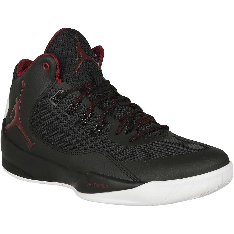 Zapatilla de Hombre Nike Negro   Rojo jordan rising high 2 ... 1e252d4aa