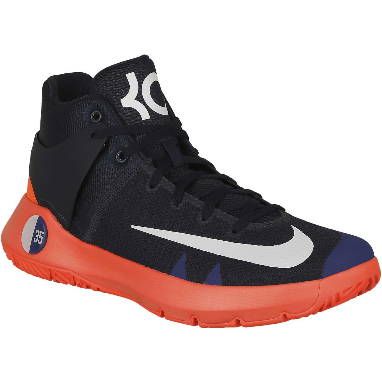 new concept 97079 47a3c Zapatilla de Hombre Nike Azul   Naranja kd trey 5 iv