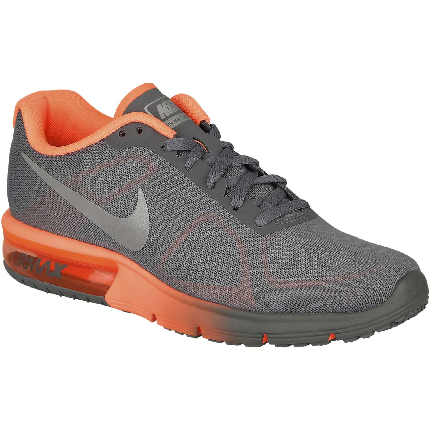 Zapatilla Mujer de Mujer Zapatilla Nike Gris / Coral wmns air max sequent 1d32b2