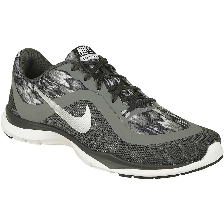 8c7b478b4db Zapatilla de Mujer Nike Gris wmns flex trainer 6 print