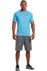 Under Armour Celeste de Hombre modelo UA TECH SS TEE Camisetas Deportivo Polos Walking Hombre Ropa