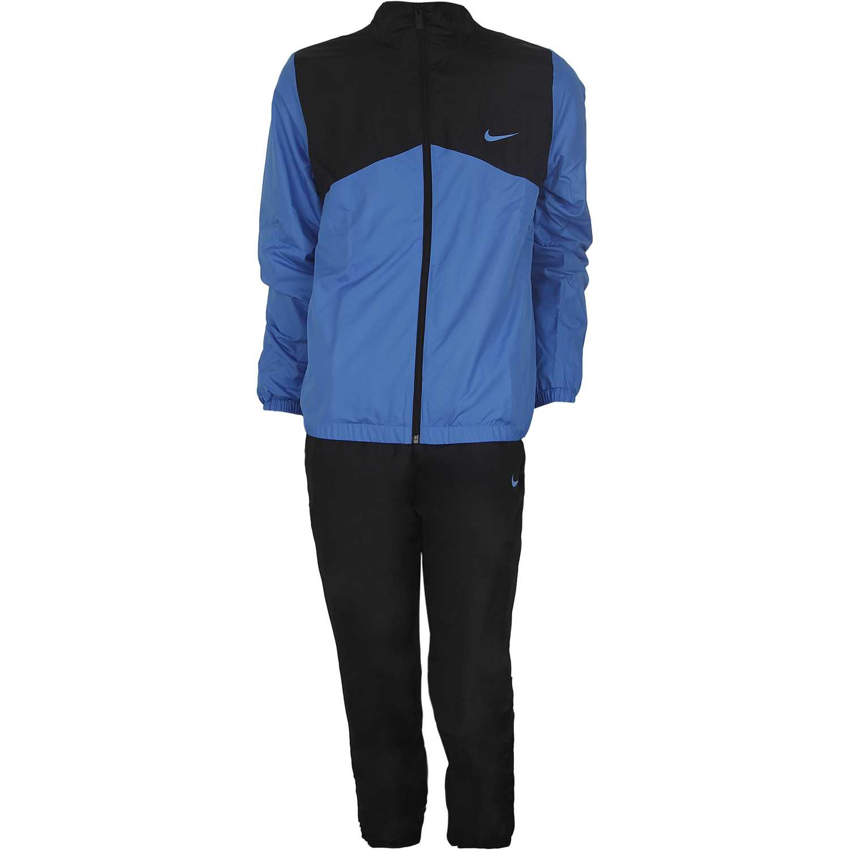 Buzo de Hombre Nike Azul / Negro half time woven trk suit ...