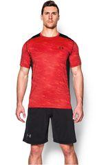 Camiseta de Hombre UNDER ARMOUR RAID SS TEE Rojo