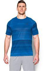 Under Armour Azulino de Hombre modelo UA TECH PRINTED Camisetas Deportivo Polos Walking Hombre Ropa