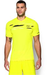 Under Armour Amarillo de Hombre modelo CHALLENGER GRAPHIC TOP Polos Deportivo Camisetas