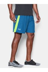 Short de Hombre Under Armour Azul / Verde UA LAUNCH 7 WOVEN SHORT
