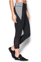 Leggin de Mujer UNDER ARMOUR SHAPESHIFTER COLORBLOCK CROP Negro / Plomo
