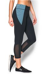 Leggin de Mujer UNDER ARMOUR SHAPESHIFTER COLORBLOCK CROP Negro / Celeste