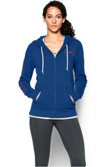 Polera de Mujer UNDER ARMOUR FAVORITE FLEECE FZ HOODY Azulino / Naranja