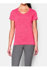 Polo de Mujer UNDER ARMOUR TECH SSV - TWIST Fucsia