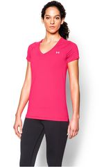 Polo de Mujer UNDER ARMOUR HEATGEAR ARMOUR SS Fucsia