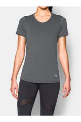 Polo de Mujer UNDER ARMOUR UA HG COOLSWITCH SS Plomo