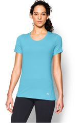 Polo de Mujer UNDER ARMOUR UA HG COOLSWITCH SS Celeste