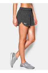 Under Armour Gris de Mujer modelo TECH SHORT Deportivo Shorts