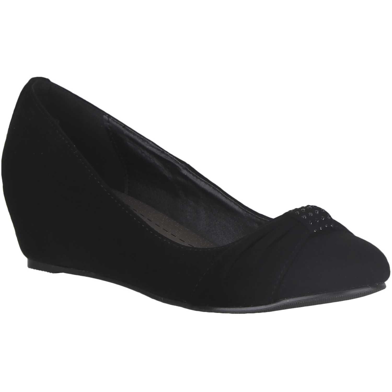 Calzado de Mujer Platanitos Negro cw-837