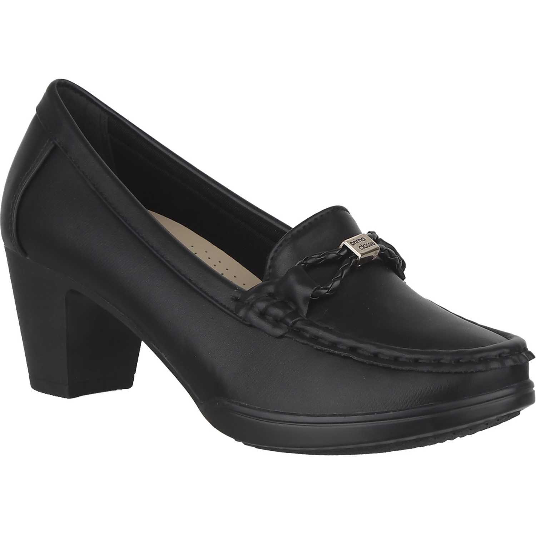 Calzado de Mujer Platanitos Negro c-v-8