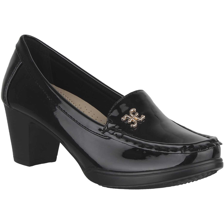 Calzado de Mujer Platanitos Negro c-v-4