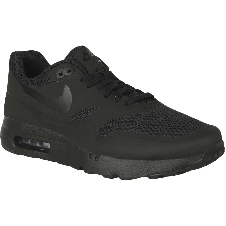 Zapatilla de Hombre Nike Negro / Negro air max 1 ultra essential