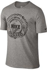 Nike Gris de Hombre modelo DFCT EDD GO HARD TEE Deportivo Polos