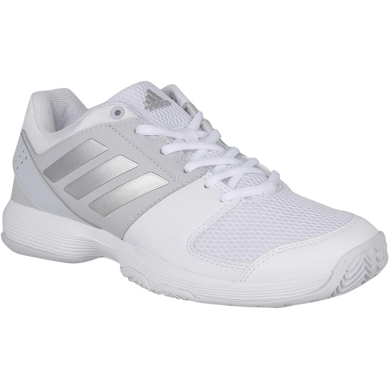 Dek - Zapatillas de Material Sintético para mujer Blanco blanco/gris qj5M11s